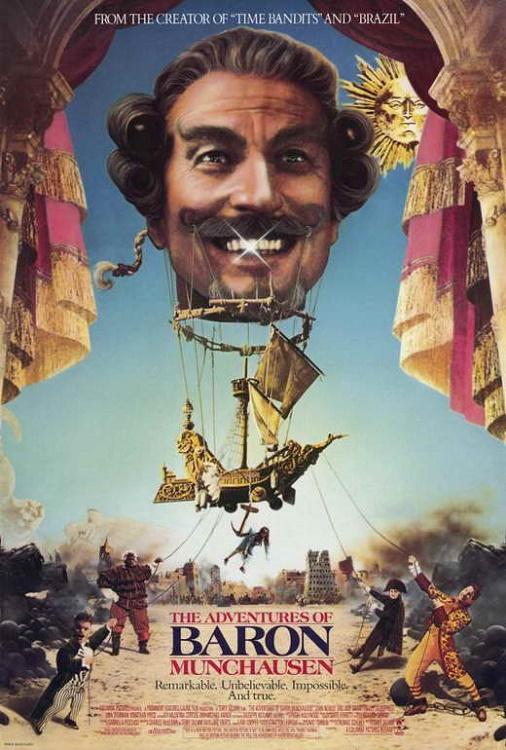 Locandina Le avventure del barone di Mnchausen streaming film