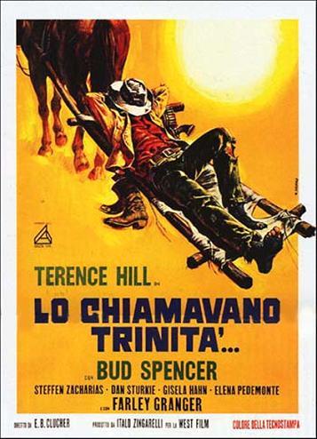 Terence Hill e Bud Spencer em 'Trinitá' - 1970