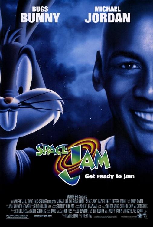 Locandina Space Jam
