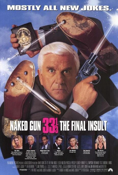 Agárralo como puedas 33 y 1/3: El insulto final (1994