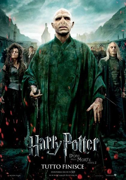 Harry Potter E I Doni Della Morte Parte Ii Manifesto Originale Del Film Manifesto Italiano Del Film
