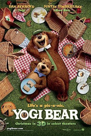 Cartoni animati orso yoghi e i suoi amici buon compleanno