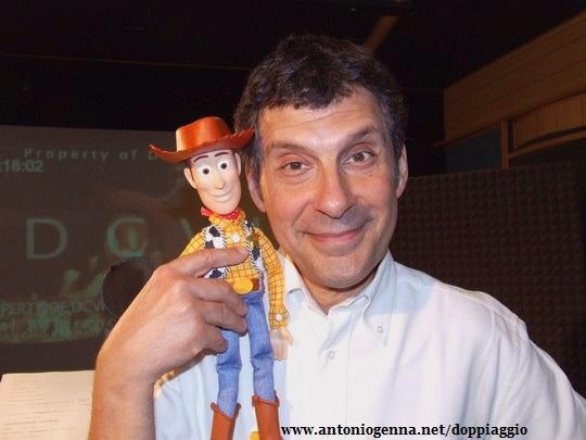 woody toy story doppiatore 2